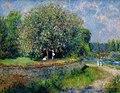 Renoir Chestnut Tree in Blossom Berlin Alte Nationalgalerie 27042018.jpg