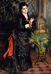 Auguste Renoir: La Femme à la Perruche