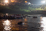 Rescue Team Searching Crashed B-22816 in Keelung River 20150204n2.jpg