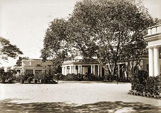 Rashtrapati Nilayam - Rashtrapati Nilayam (Residency House), c. 1892,Photo: Lala Deen Dayal