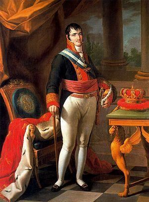 Spanish Royal Crown - Image: Retrato de Fernando VII (Zacarías González Vázquez)