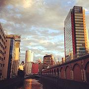 Retro futuristic 21th century Akihabara near Manseibashi - Uploaded on 2014-11-03 (by Junya Ogura).jpg