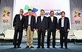 Reunión de los Jefes de Estado con los asistentes al Foro Empresarial. (8815462400).jpg