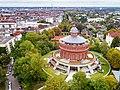 Revensberg Wasserturm Luftbildaufnahme.jpg