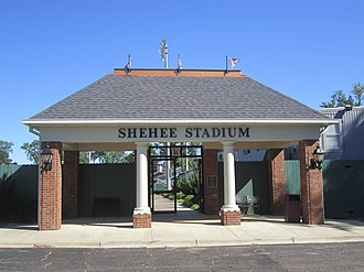Virginia Shehee - Shehee Stadium at Centenary College in Shreveport is named for William Peyton Shehee, Jr.