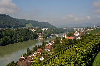 Eglisau - Image: Rheinbruecken Eglisau 02 10