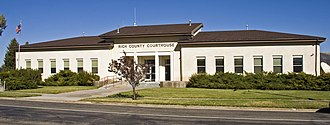 Rich County, Utah - Image: Rich County UT courthouse 1