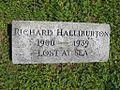 Richard Halliburton gravemarker Forest Hill Cemetery.jpg