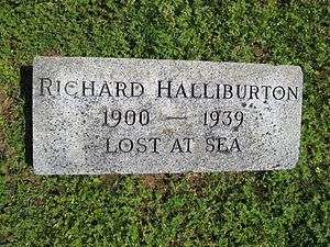Richard Halliburton - Richard Halliburton's monument