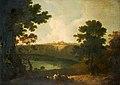 Richard Wilson (1713-1714-1782) - Lake Albano and Castel Gandolfo - 1920P8 - Birmingham Museums Trust.jpg