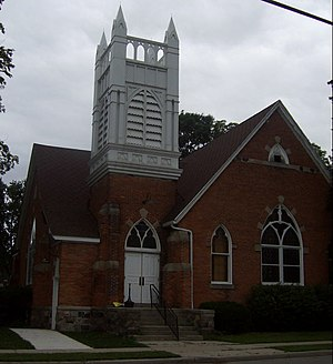 Richmond, Michigan - Richmond Community Theater (formerly First Congregational Church)