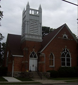 National Register of Historic Places listings in Macomb County, Michigan - Image: Richmond MI communitytheater