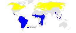 Riparia riparia distribution map