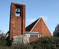 Risbjerg Kirke Hvidovre Denmark belfry.jpg