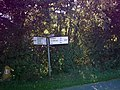Road Sign at Ubbaston - geograph.org.uk - 245012.jpg