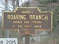 Roaring Branch, PA keystone marker.jpg
