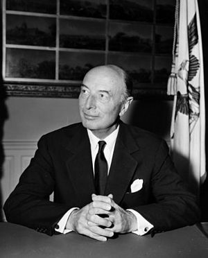 United States Deputy Secretary of Defense - Image: Robert Lovett, photo portrait, 1951