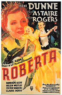<i>Roberta</i> (1935 film) 1935 American musical film by William A. Seiter