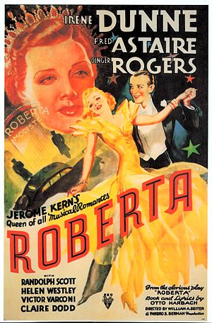 Roberta (1935 film) - Theatrical release poster