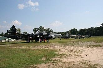 Museum of Aviation (Warner Robins) - Image: Robins AF Bbackyard 3