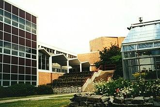 John Marshall High School (Minnesota) - View from the Courtyard of John Marshall High School (1999)