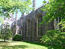 Rockefeller College Dining Hall from Nassau Street.jpg