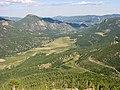 Rocky Mountain NP, Road 34 - Rainbow Curve - panoramio.jpg