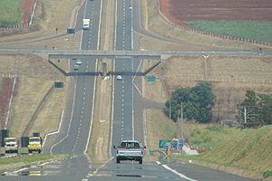 SP-255 - Image: Rod SP 255 km 5 Sentido Sul