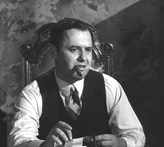Rod Steiger - Steiger as the notorious mobster Al Capone