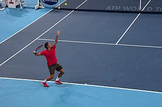 Swiss Indoors - Roger Federer at the 2014 Swiss Indoors