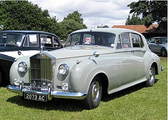Rolls-Royce Silver Cloud - Image: Rolls Royce Silver Cloud Series I 4857cc January 1959