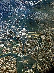 <center> La Ciudad del Vaticano, <span>0,44 km&#xB2;</span>. </center>