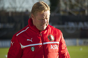 Ronald Koeman - Koeman with Feyenoord.