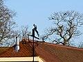 Roof and weathervane, Kingston Lisle - geograph.org.uk - 667277.jpg