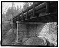 Route 87, Pigtail Bridge, underside view. View SE. - Pigtail Bridge, Hot Springs, Fall River County, SD HAER SD-54-5.tif