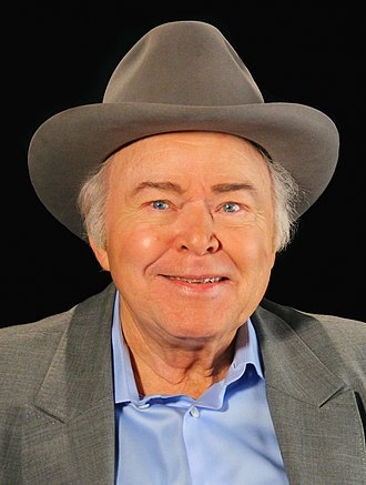 Roy Clark - Roy Clark on the set of A Conversation With Oklahoma Educational Television Authority, Tulsa, Oklahoma, in 2014