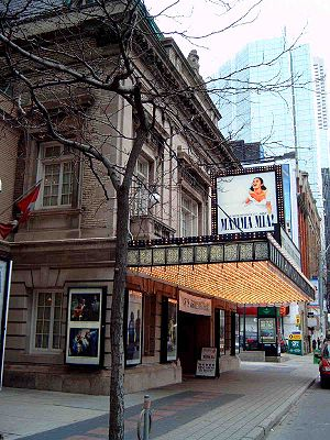 Mamma Mia! - Mamma Mia! made its North American debut at the Royal Alexandra Theatre in Toronto