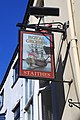 Royal George Pub Sign, Staithes - geograph.org.uk - 1755172.jpg
