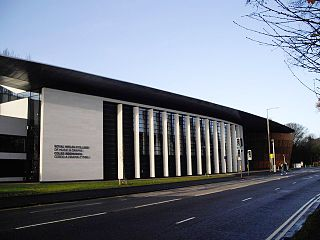 Royal Welsh College of Music & Drama conservatoire located in Cardiff, Wales