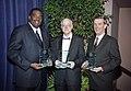 Royce West, James Royce Lummus Jr., Gary L. Henson at UTA Distinguished Alumni Gala (10018382).jpg