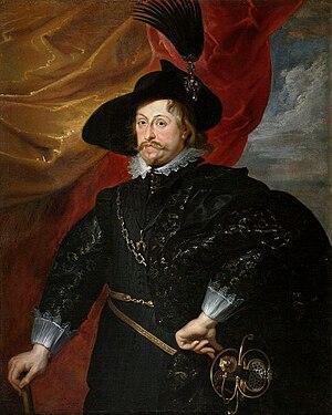 Władysław IV Vasa - Portrait by Rubens