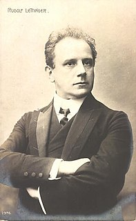 Rudolf Lettinger German actor