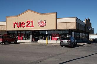 Rue21 - A rue21 in Gillette, Wyoming