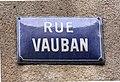 Rue Vauban (Lyon) - Mars 2019 - panneau de rue.jpg