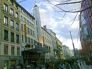 Rue de la République - cinéma Pathé Lyon - Bellecour