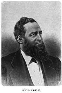 Rufus S. Frost American politician