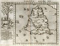 1562 Ruscelli mappa dopo Tolomeo