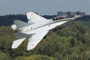 الرافال...هل ستحط رحالها بمصر يوما ما؟ ليس بالأمر المستحيل 300px-Russian_Air_Force_Mikoyan-Gurevich_MiG-29M-2_Beltyukov-1