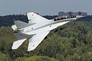 مصر ستحصل على نظام الدفاع الساحلى К300П ومروحيات Ми-35М و مقاتلات МиГ-29М/М2  300px-Russian_Air_Force_Mikoyan-Gurevich_MiG-29M-2_Beltyukov-1