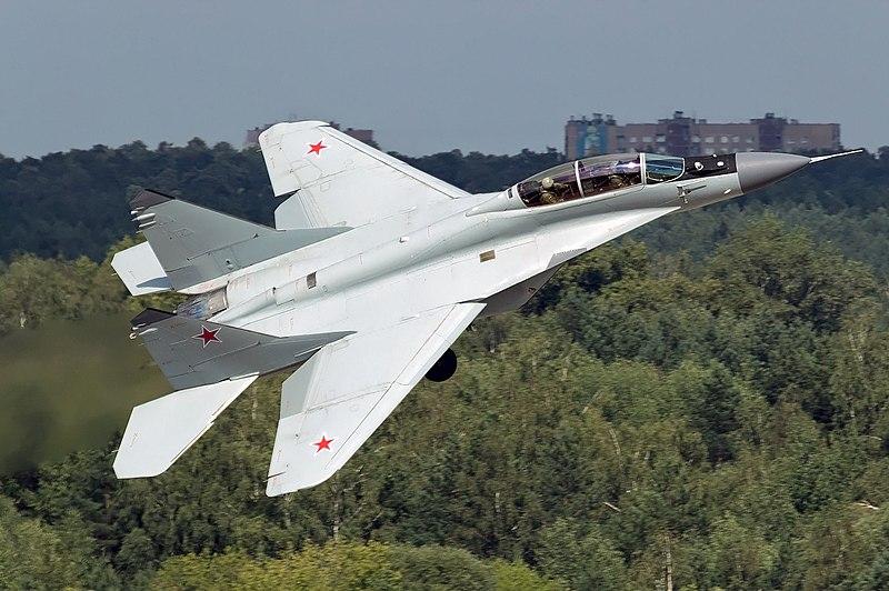 سوريا ستحصل على 12 مقاتلة من طراز MiG-29M2 و ياك 130 800px-Russian_Air_Force_Mikoyan-Gurevich_MiG-29M-2_Beltyukov-1